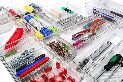 InterDesign Drawer Organiser Tidy Divider Drawer Tray For kitchen, Bathroom