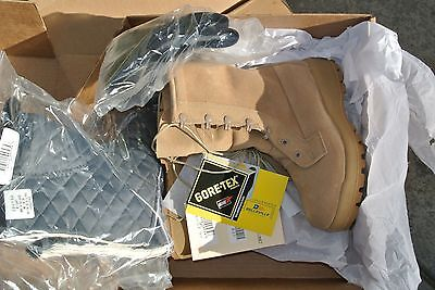 BELLEVILLE BOOTS ICWR INTERMEDIATE COLD/WET 4.0 R MILITARY COMBAT W/BOOTIE NEW
