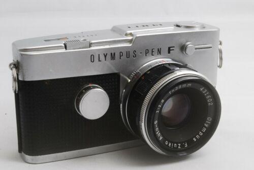 OLYMPUS PEN-FT SN162466 #919 + Olympus F.Zuiko Auto-S f/1.8 38㎜ SN431602 #893