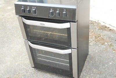Belling FSE60DO 60cm Freestanding Double Oven Electric Cooker in Stainless steel
