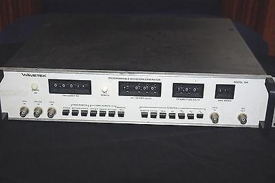 Wavetek Model 154 Programmable Waveform Generator Working