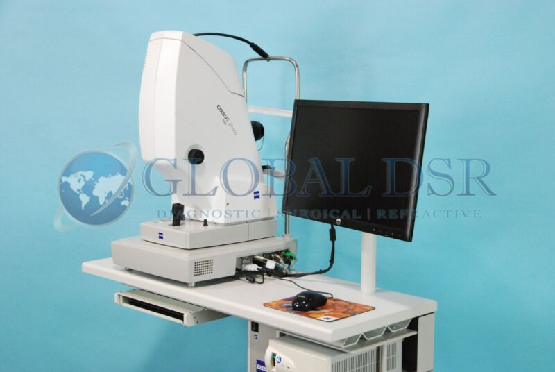 Zeiss Cirrus Photo 600 OCT System, Optical Coherence Tomography w/ Power Table