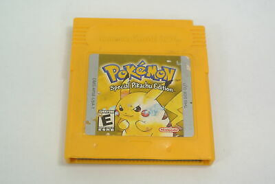 Pokemon Yellow Nintendo Original Game Boy Color GBA Authentic OEM SAVES FUN