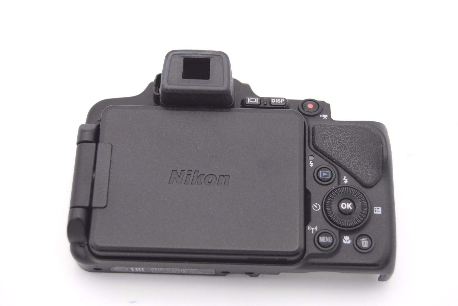 NIKON COOLPIX P600 REAR BACK COVER W// LCD REPLACEMENT REPAIR PART