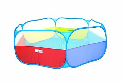 Foldable Rainbow Baby Playpen Indoor/Outdoor Toddler Pop Up Ball Pit Play Yard