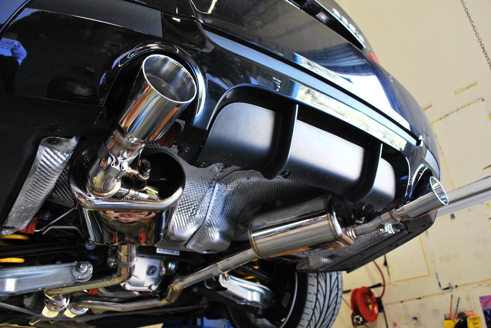 Mxp Mevius Performance Catback Exhaust System Bmw E92