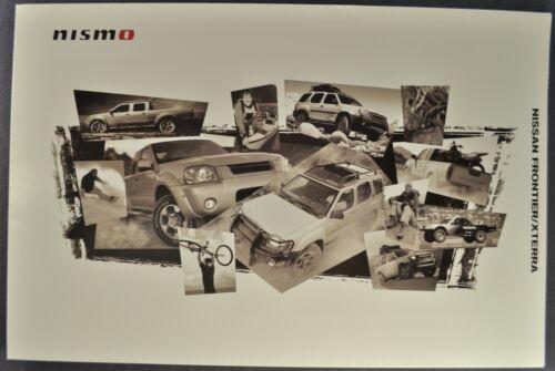 2003-2004 Nissan Frontier Pickup Xterra SUV Nismo Accessories Brochure Original