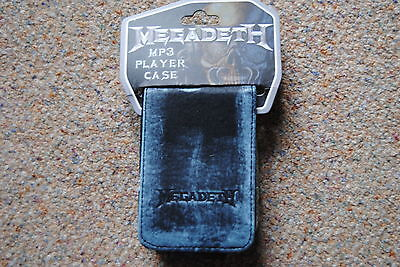MEGADETH LOGO MP3 PLAYER CASE NEW OFFICIAL RUST IN PEACE YOUTHANASIA RISK 13