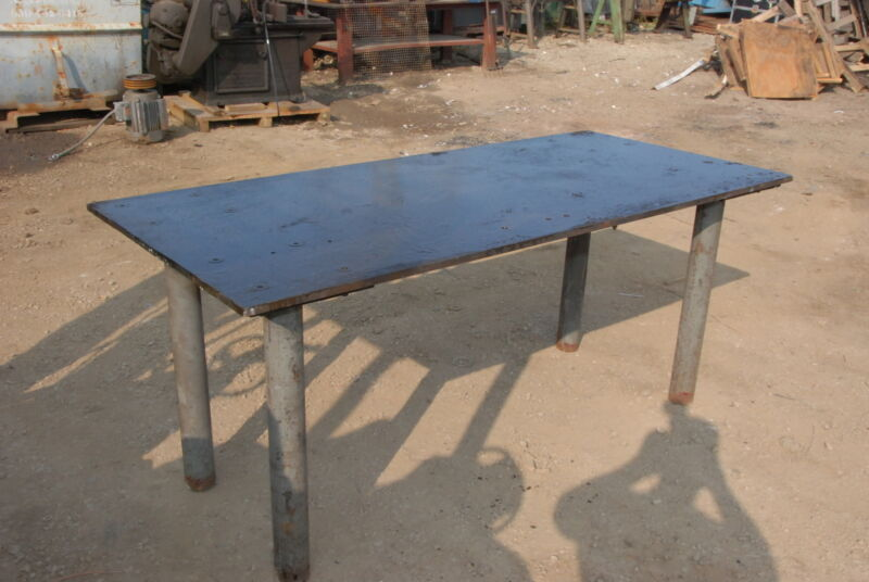 """Welding table 78*36*34,3/4""""thick INV=29757"""
