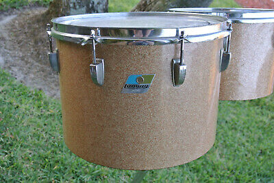 "1972 Ludwig CLASSIC 14"" CHAMPAGNE SPARKLE MELODIC TOM for YOUR DRUM SET! #Z265"