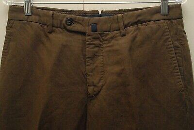 INCOTEX Slowear brown chinolino pants 32x32
