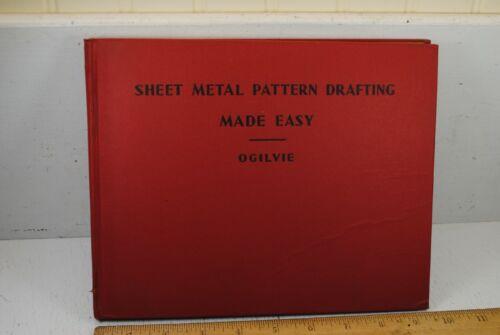 Vintage 1944 Sheet Metal Pattern Drafting Made Easy