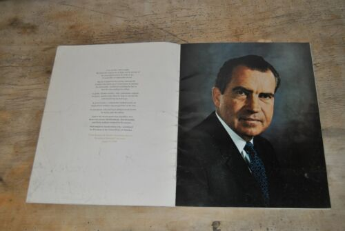 January 20, 1969 Official Inaugural Program for Richard Nixon & Spiro Agnew