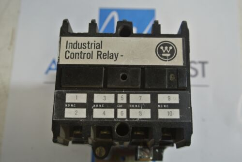 Westinghouse Industrial Control Relay ARD4S - 24 VDC Coil - USED