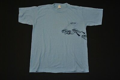 VTG CAYMAN ISLANDS SHIRT SURFSIDE SCUBA WATER SPORTS 1981 80'S MEN'S XL SLIM image