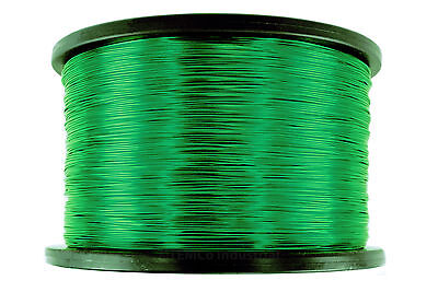 Temco Magnet Wire 28 Awg Gauge Enameled Copper 5lb 9940ft 155c Coil Green