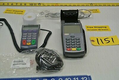 First Data Verifone Pin Pad 1000se Fd55 Credit Card Processing Free Ship