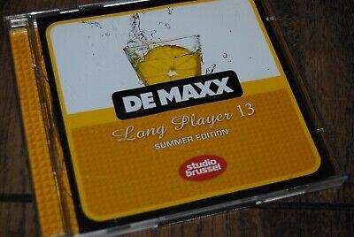 DE MAXX - LONG PLAYER 13 - COMPILATION DOUBLE CD / STUDIO BRUSSEL - 541416502371