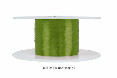 Temco Magnet Wire 40 Awg Gauge Enameled Copper 155c 8oz 15960ft Coil Green