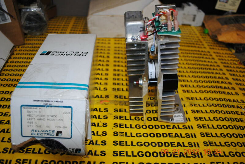 Reliance Electric 86474-S Rectifier Stack 86474S New
