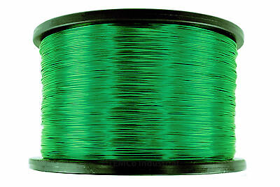 Magnet Wire 24 AWG Gauge Enameled Copper 2.5lb 1980ft 155C Magnetic Coil Green