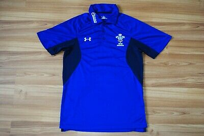 Small Mens Wales Rugby Union Shirt Under Armour BNWT