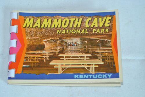 Mammoth Cave National Park Kentucky ~ 1960s Photo Souvenir Booklet