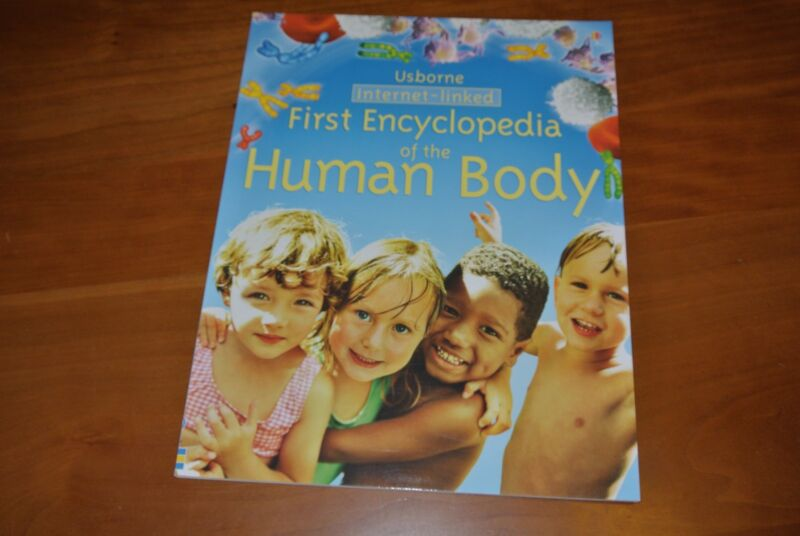 First Encyclopedia of the Human Body - Internet Linked by Fiona Chandler...