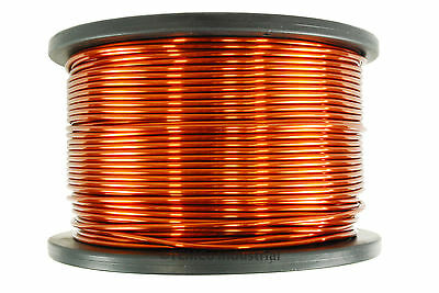 Magnet Wire 8 AWG Gauge Enameled Copper 10lb 200ft 200C Magnetic Coil Winding