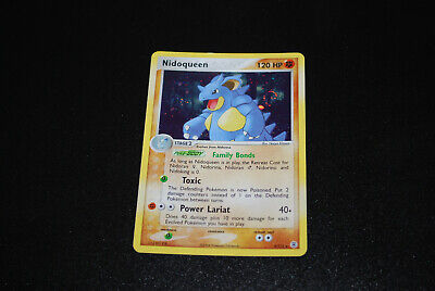2004 Ex FireRed LeafGreen Nidoqueen Holo 9/112