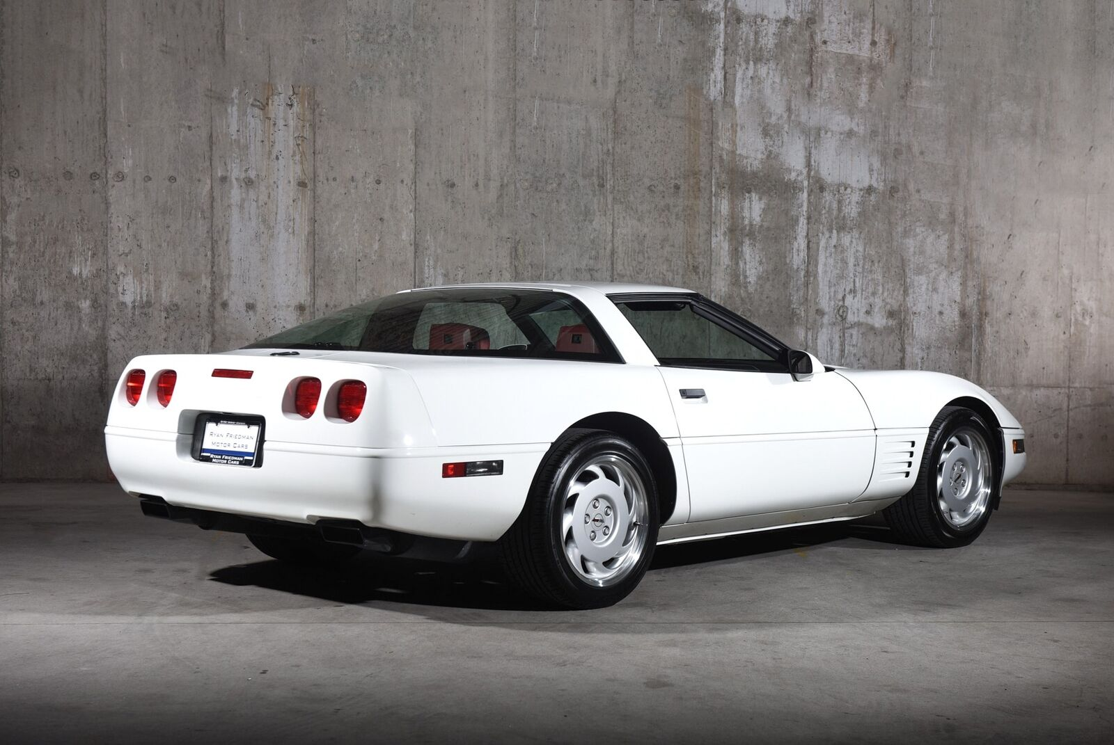 1992 White Chevrolet Corvette   | C4 Corvette Photo 7