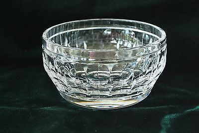 ATLANTIS Crystal Bowl Candy Nut Dish Vertical glass clear