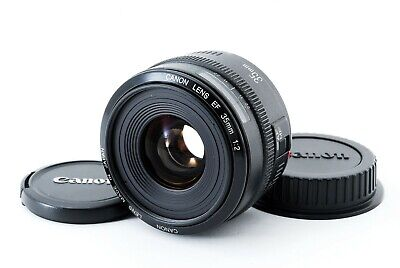 【Near Mint】Canon EF 35mm F2 Lens with Caps From Japan [Free Shipping] Clear
