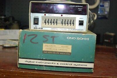 Ono Sokki Dg-410 Digital Instruments Control System Used