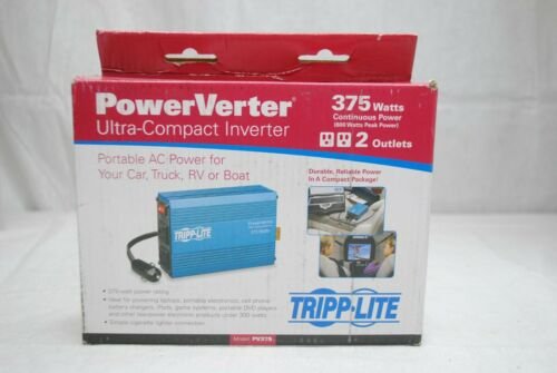 Tripp Lite 375W Power Verter Ultra-Compact Inverter (PV375) Brand New