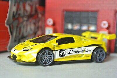 Hot Wheels Loose - Lamborghini Huracan LP 620-2 Super Trofeo - Yellow