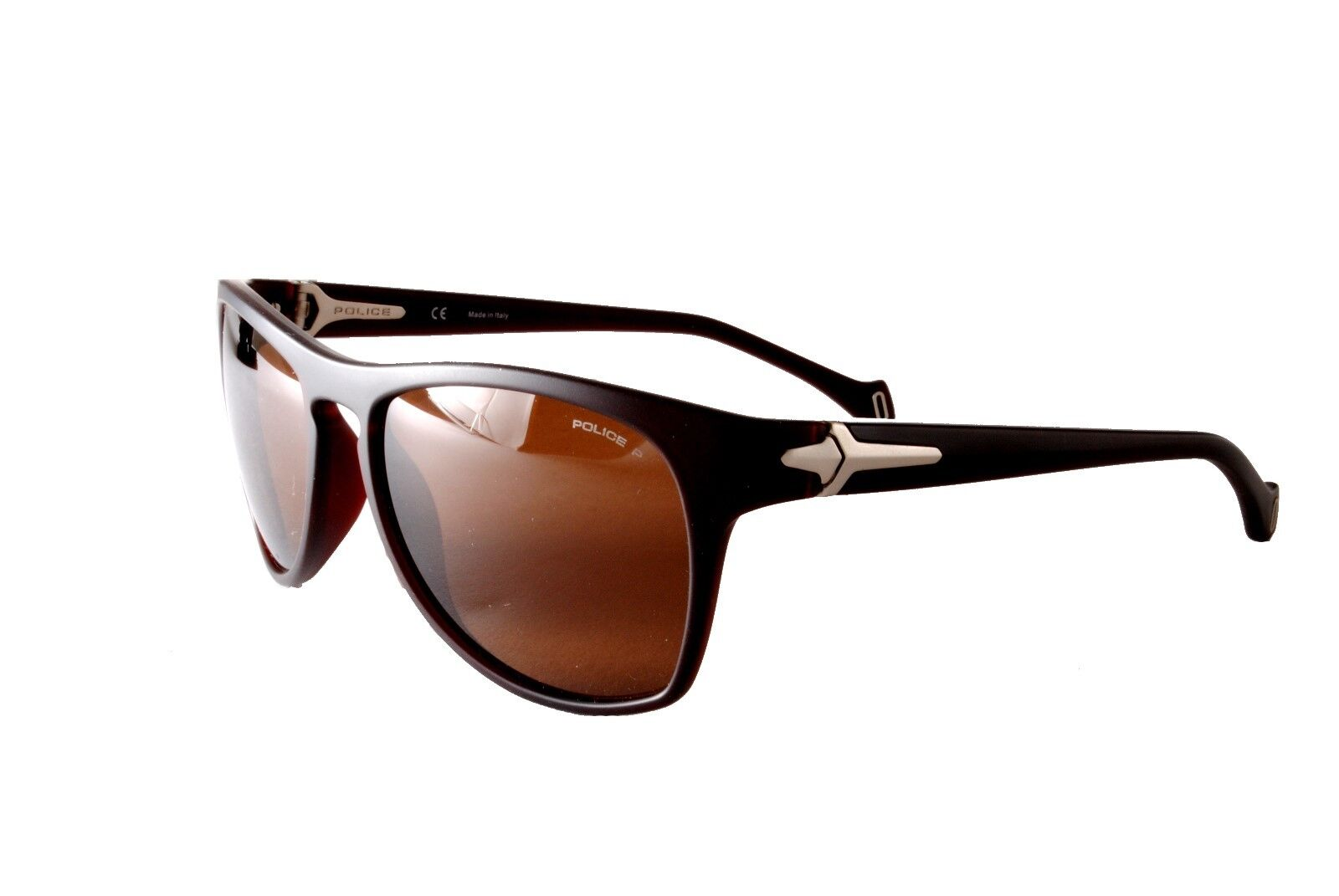 7d98587b18b Police Polarised Sunglasses S1887M Gulfport Z55P Matt Brown Brown