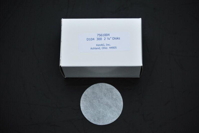 """Milk Filter Disks for Mini Strainer, Kenag 2-1/4"""" disks, 300/pk, Brand New,"""