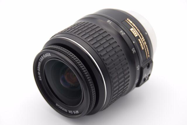 Nikon AF-S DX Nikkor 18-55mm f/3.5-5.6G ED II ZOOM LENS