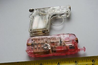 Used Vintage lighters   –    SEE THROUGH   STYLE    Gas Lighters