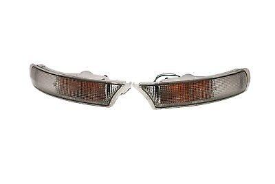 Front Bumper / Indicator Lamps RH+LH (CLEAR) For Subaru Impreza 1993-2001 (DEPO)