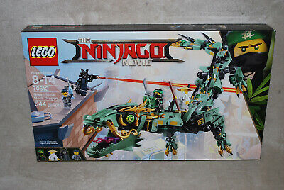 LEGO New 70612 The Ninjago Movie Green Ninja Mech Dragon Factory Sealed Box NISB