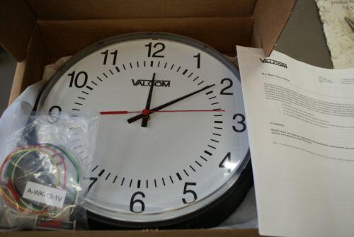 Valcom V-AW12LP Wireless Analog Clocks