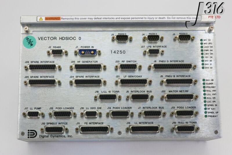 14250 Novellus Sioc Digital Dynamics Hdsioc Vector Controller 02-252395-00