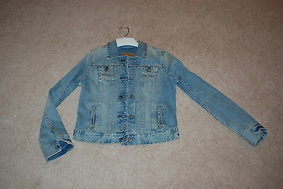 Woman's Abercrombie and Fitch Jean Jacket, blue, size large, NWT