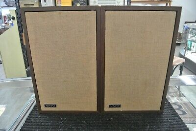 Pair of Rare Vintage Advent 3 Loudspeakers Tested and Working 8 Ohms