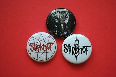 Slipknot Band Metal Buttons Pins 1 Inch Badge 1