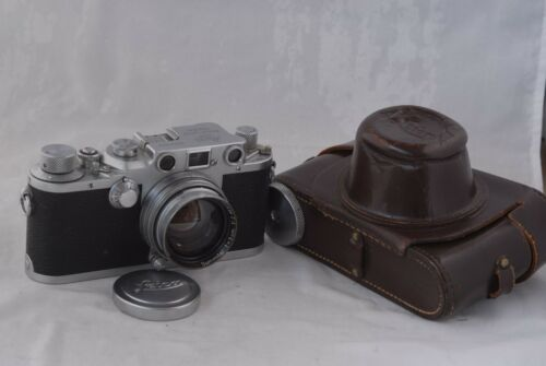 Rare! Leica IIIC SM Camera World War II Wartime #391892 with 50mm f/2.0 Summtar