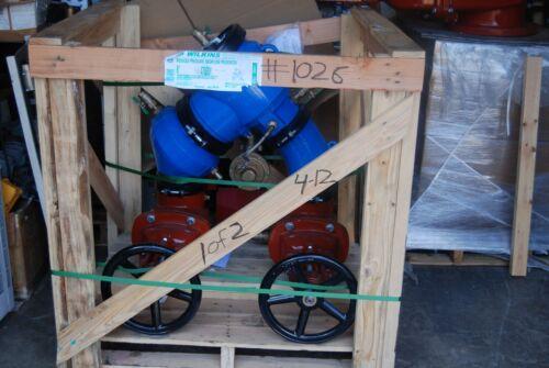 "Wilkins Zurn 475osy Backflow Preventer  6"" Horizontal New"