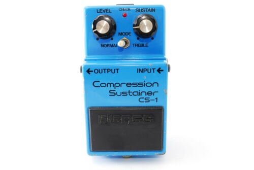 BOSS CS-1 Compression Sustainer Vintage Guitar Effect 9500 Made in JAPAN A1135